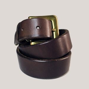 NWT GAP CLASSIC BROWN ITALIAN LEATHER BELT